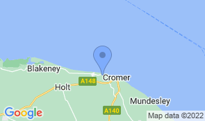 Map of Corner House Bed and Breakfast in West Runton